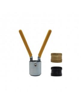 Sertisseuse pour capsules alu 31.5 X 24