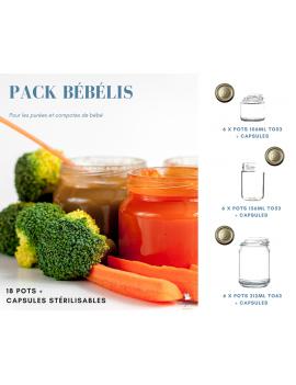 Pack BébéLis - 18 Pots et Capsules