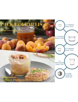 Pack GourmeLis - 17 Terrines et Capsules